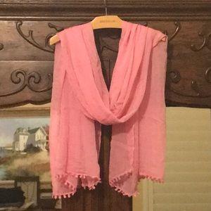Ann Taylor Breast Cancer BCRF Scarf